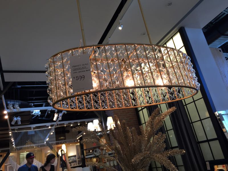 West elm lighting chandelier and pendant style carrie for West elm long island